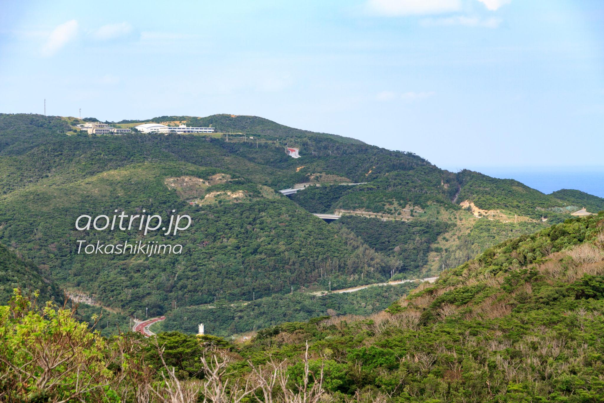 渡嘉敷島のアラン展望台からの眺望