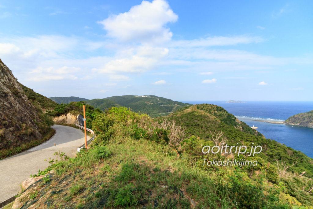渡嘉敷島のアラン展望台