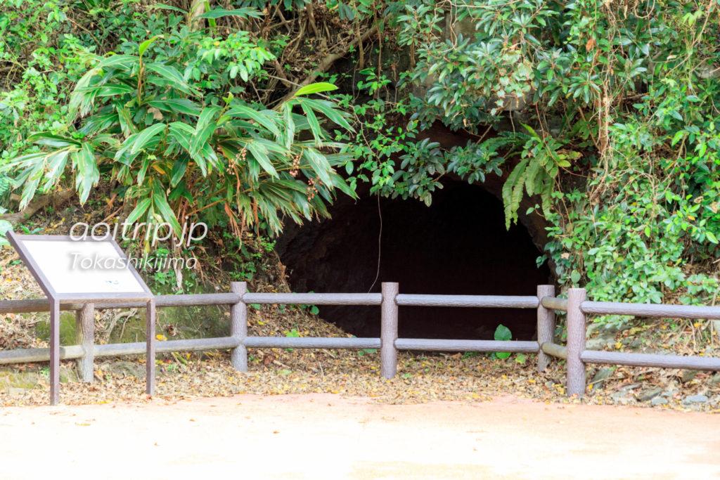 旧日本軍特攻艇秘匿壕