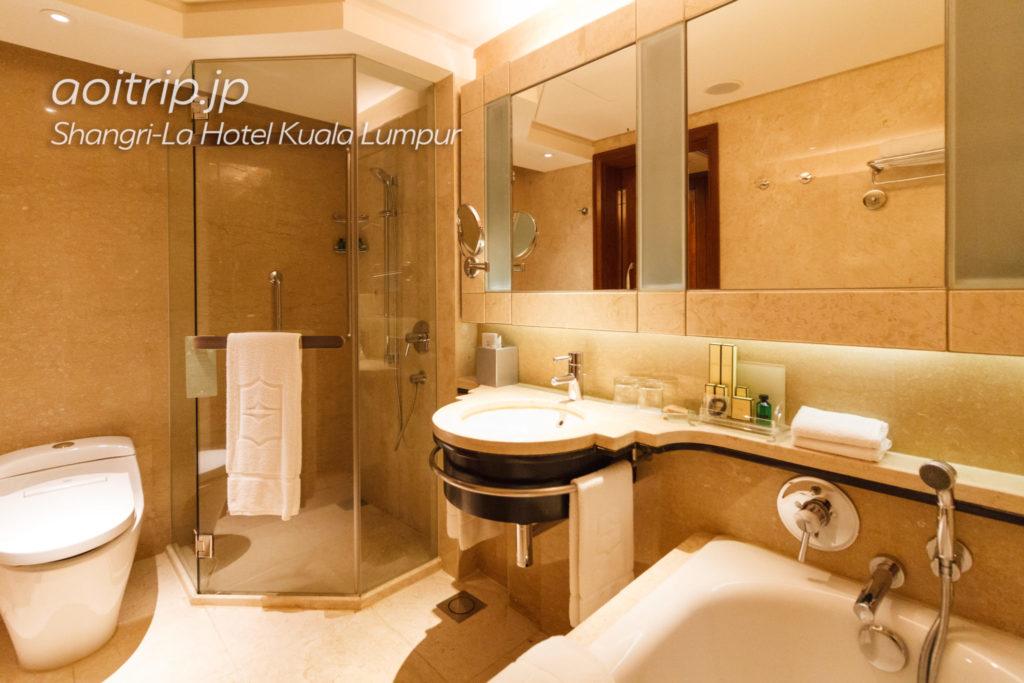 シャングリラ ホテル クアラルンプールのバスルーム