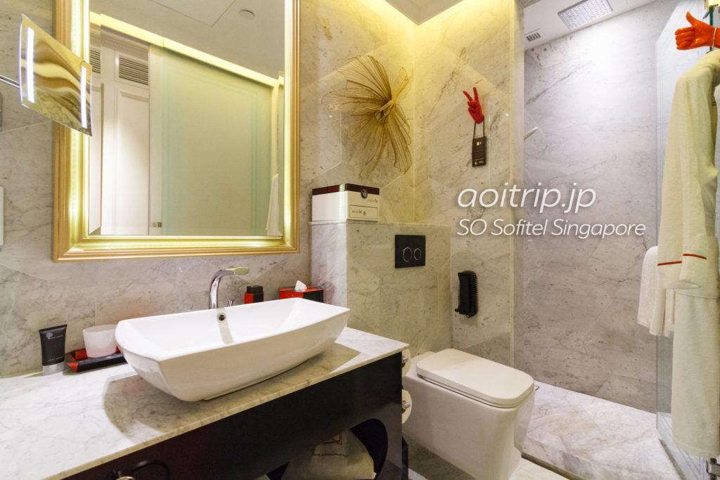 SOソフィテルシンガポールのバスルーム