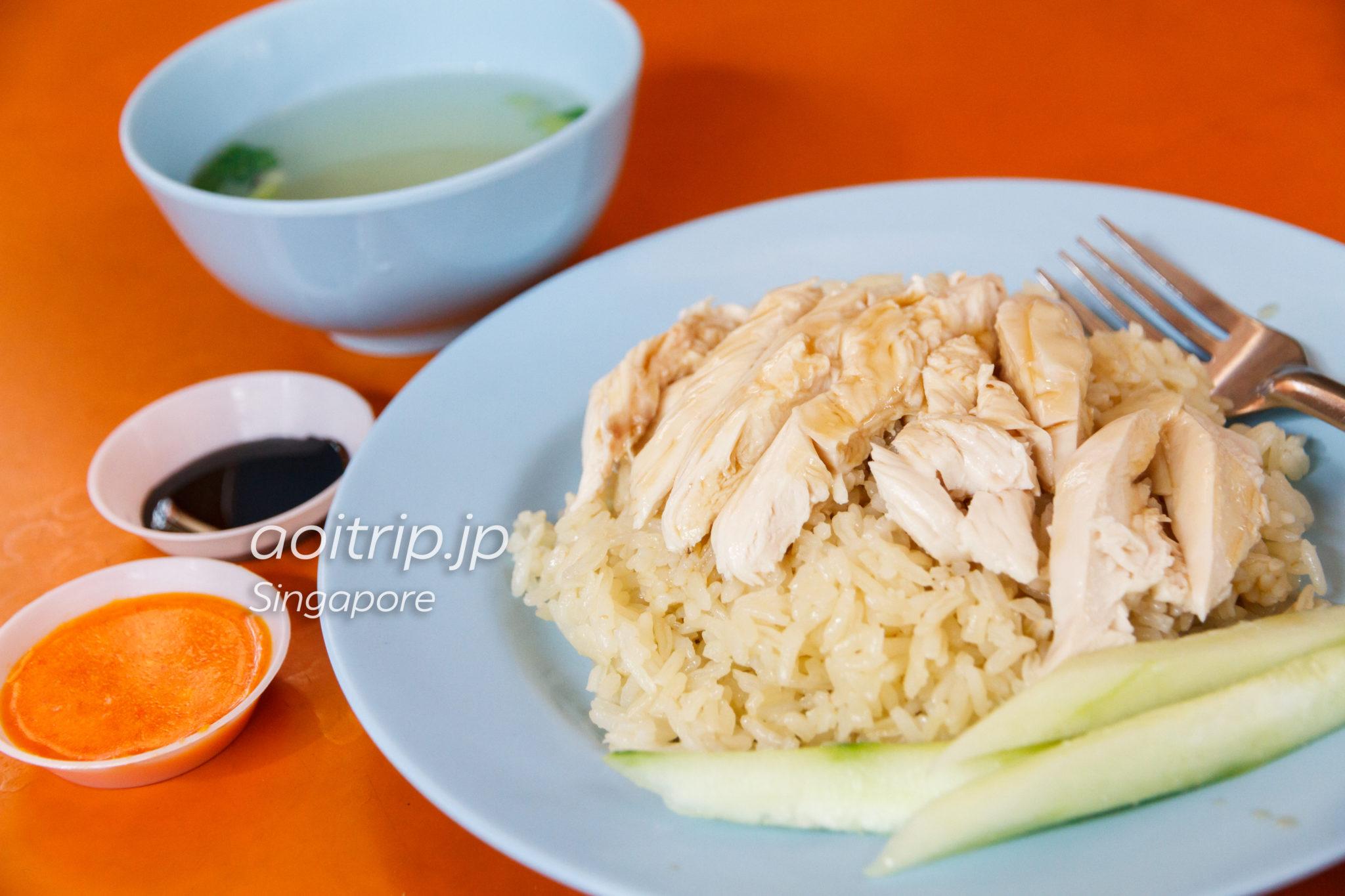阿仔海南雞飯 Ah Tai Chicken Riceのチキンライス