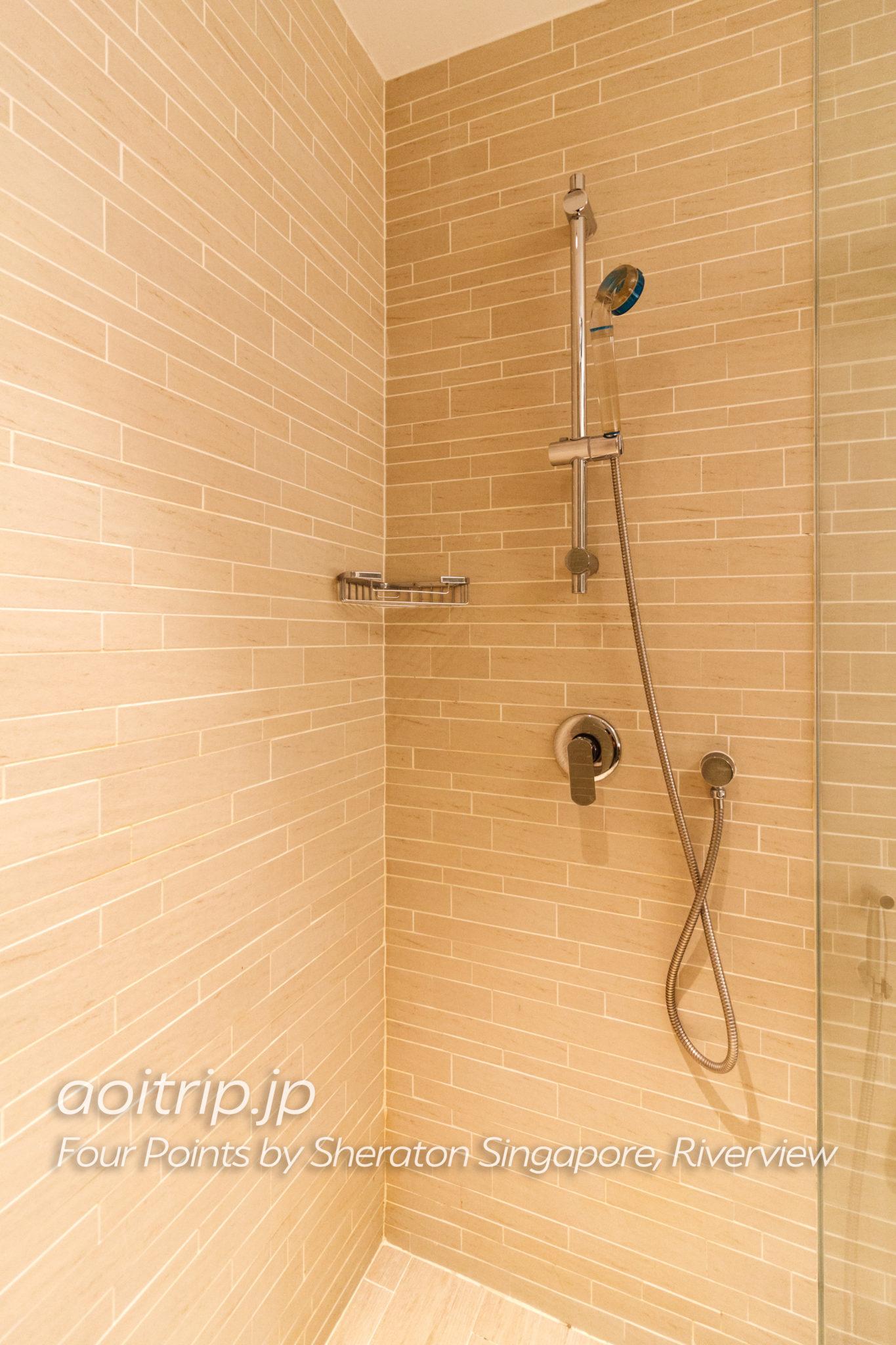 フォーポインツバイシェラトンシンガポールリバービューのバスルーム