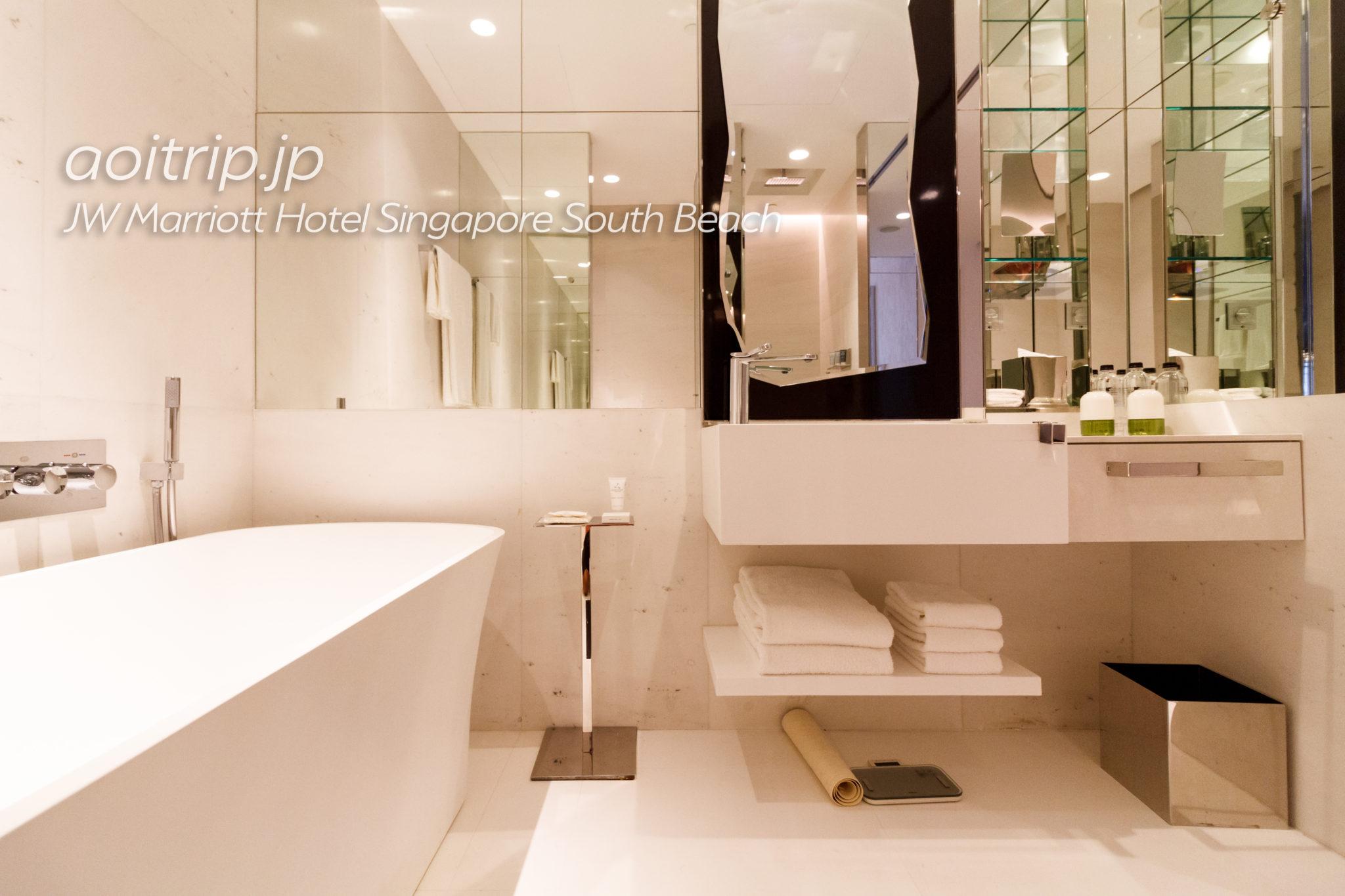 JWマリオットシンガポールサウスビーチのバスルーム