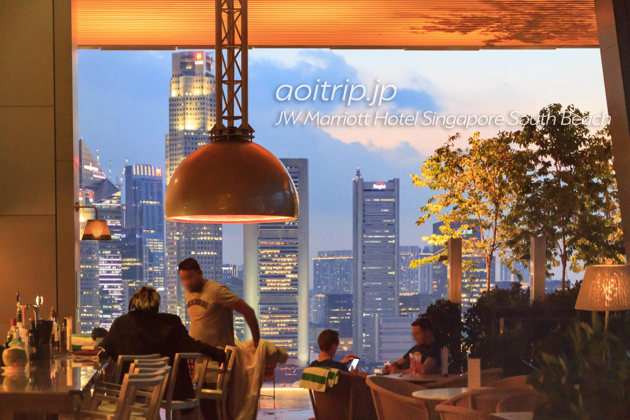 JWマリオットシンガポールサウスビーチのバー