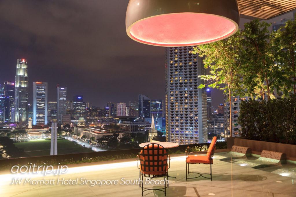JWマリオットシンガポールサウスビーチのプール