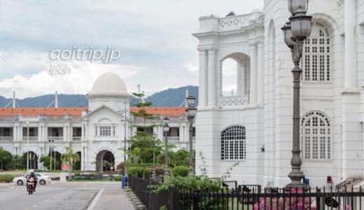 マレーシア・イポー コロニアル様式の駅舎が美しい美食の町