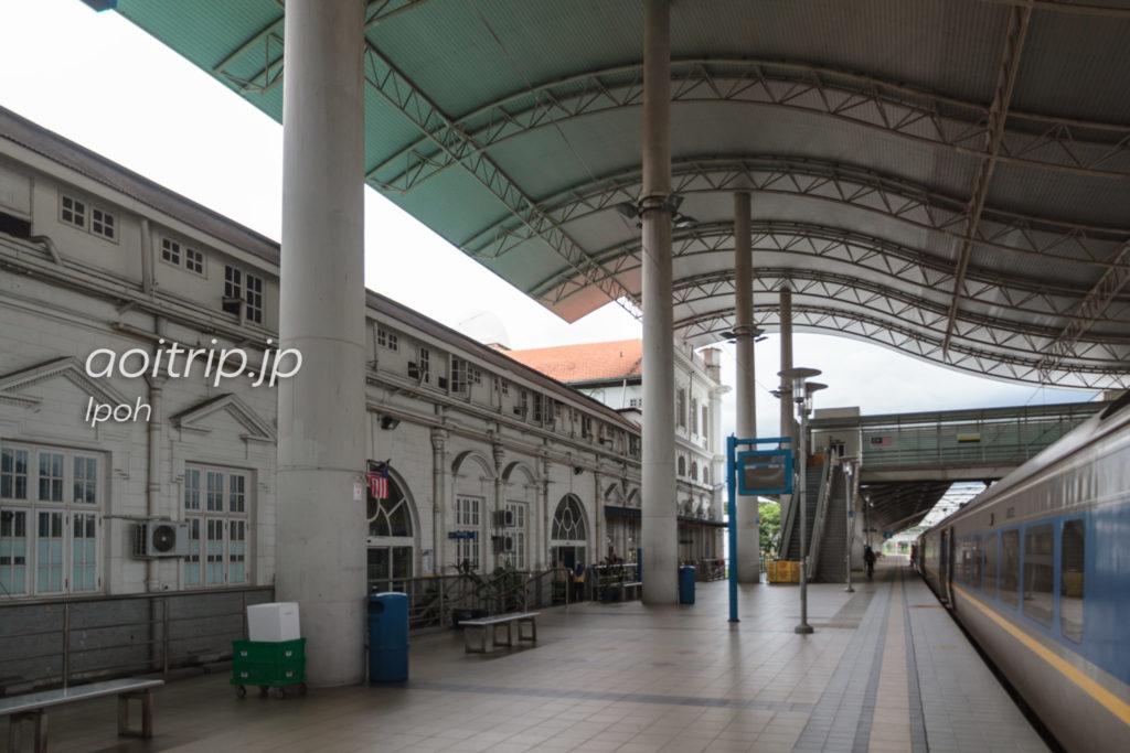 イポー鉄道駅のプラットフォーム
