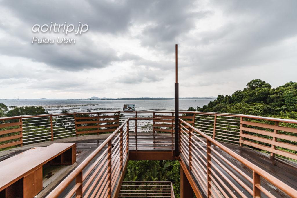 ウビン島 チェックジャワの展望台