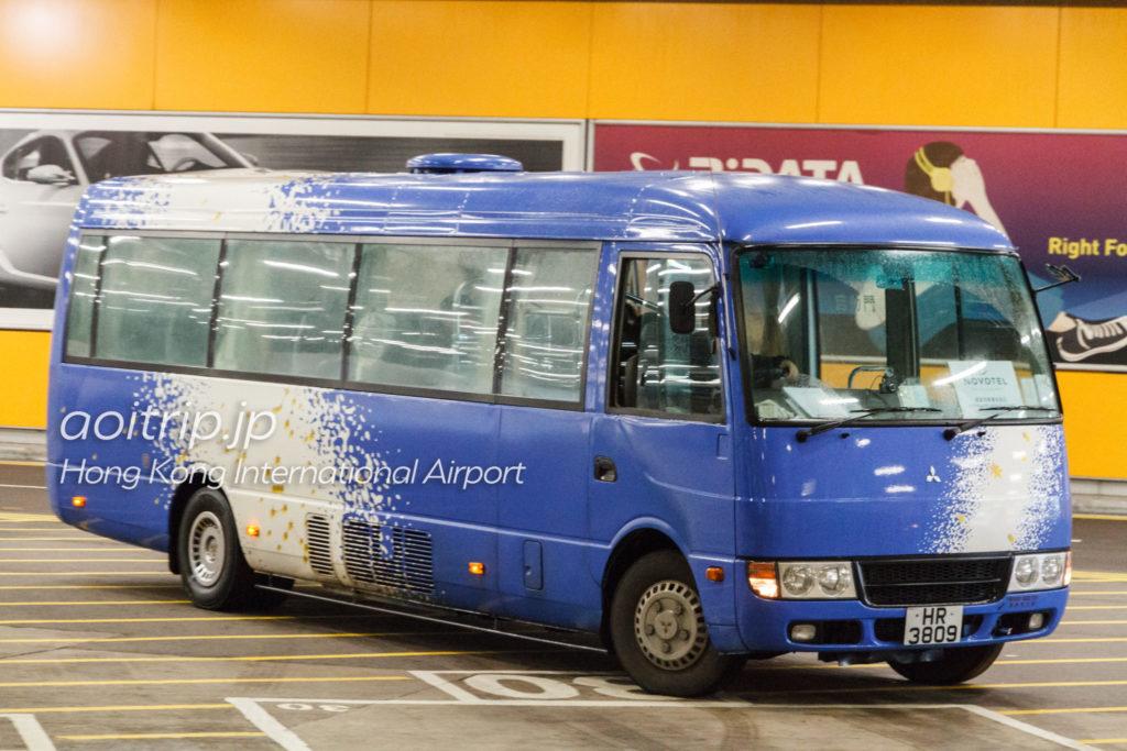 ノボテル香港シティゲートの送迎シャトルバス