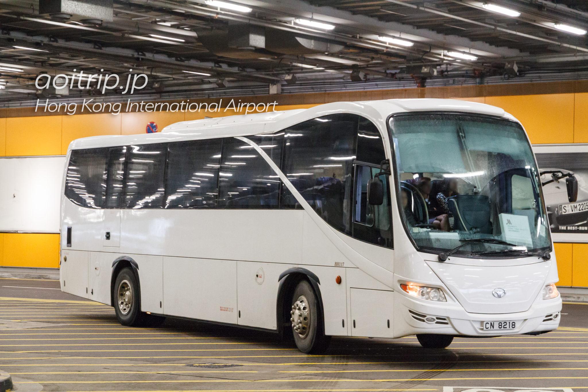 香港スカイシティマリオットホテルの送迎シャトルバス