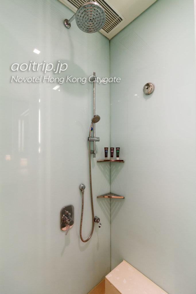 ノボテル香港シティゲートのシャワールーム