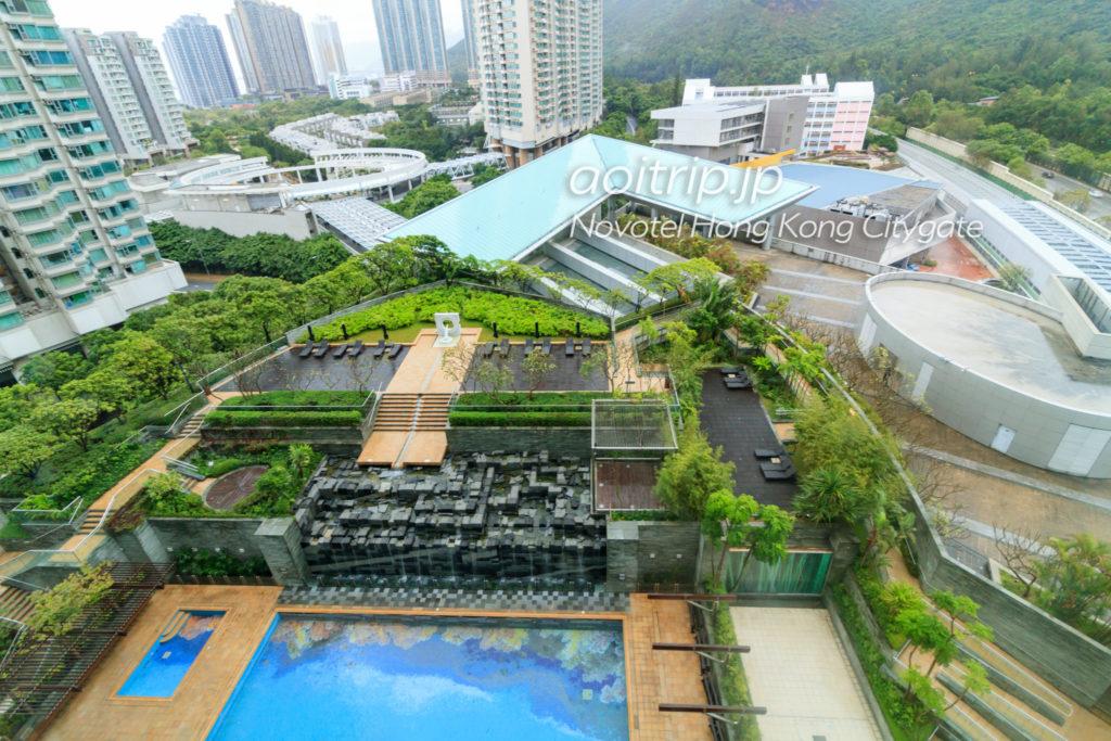 ノボテル香港シティゲートのプール