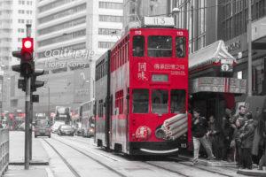 香港の路面電車トラム