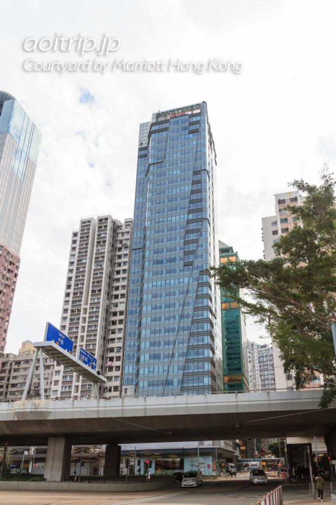 コートヤードバイマリオット香港のホテル外観