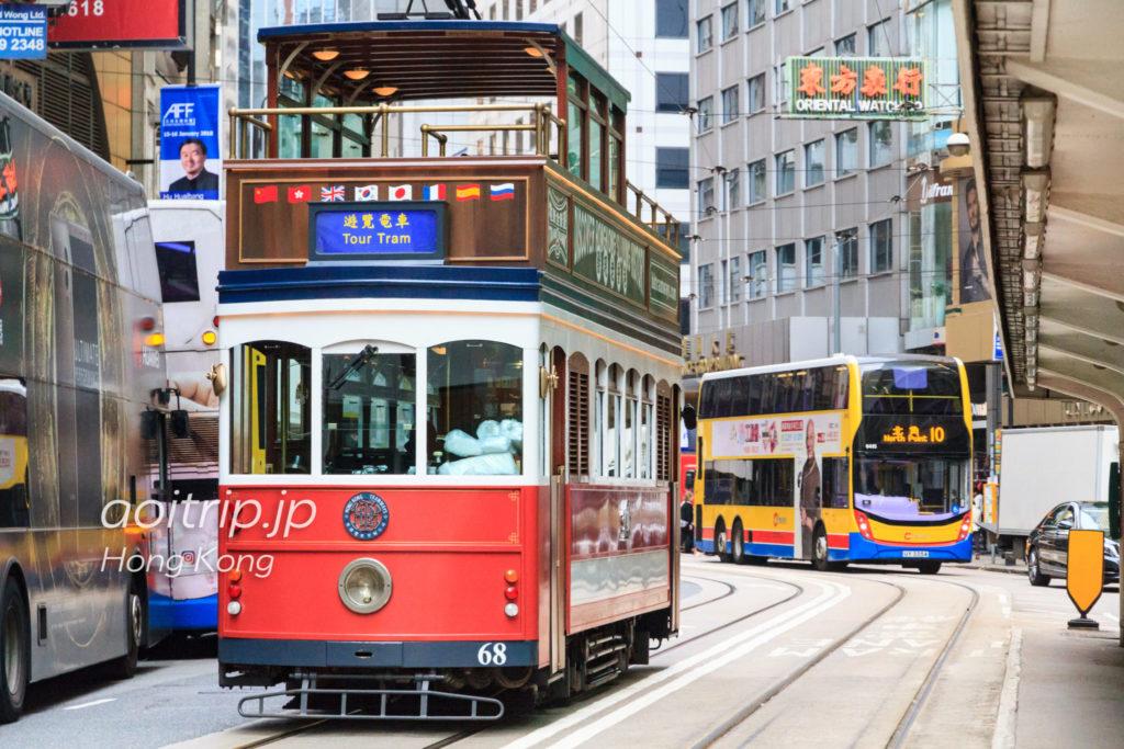 香港路面電車 トラモラミックツアー