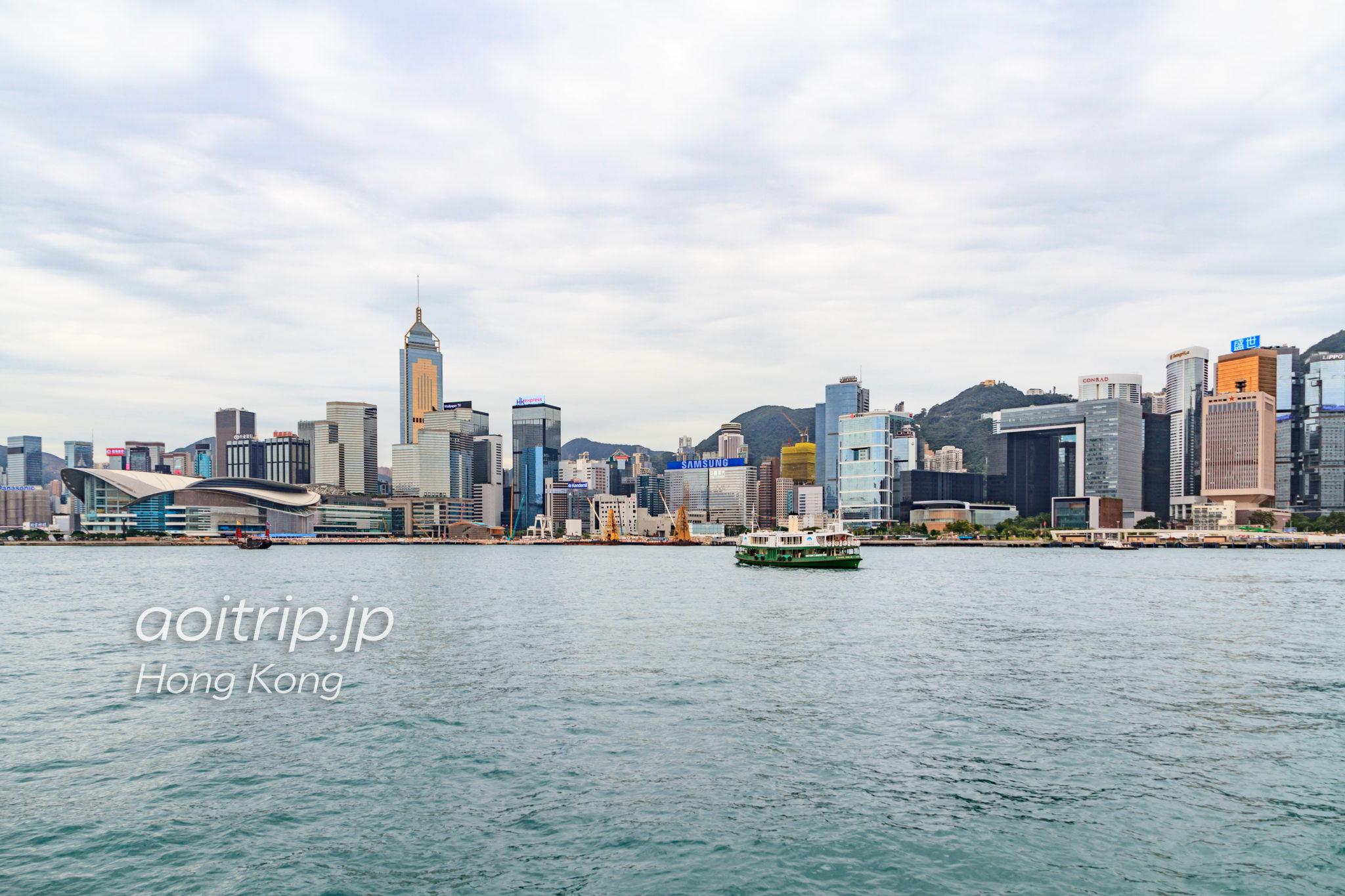 香港のスターフェリー 尖沙咀の乗り場