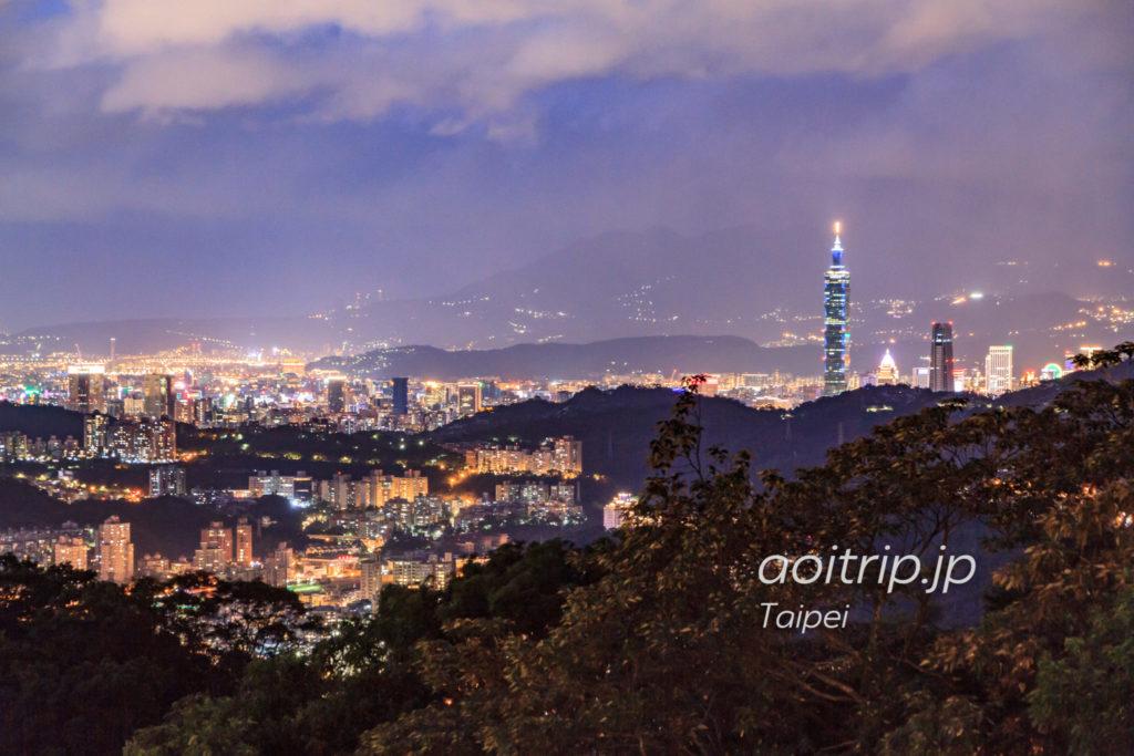 猫空ロープウェイからの台北の夜景