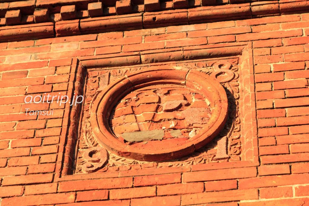 淡水の旧英国領事館のレンガ彫刻