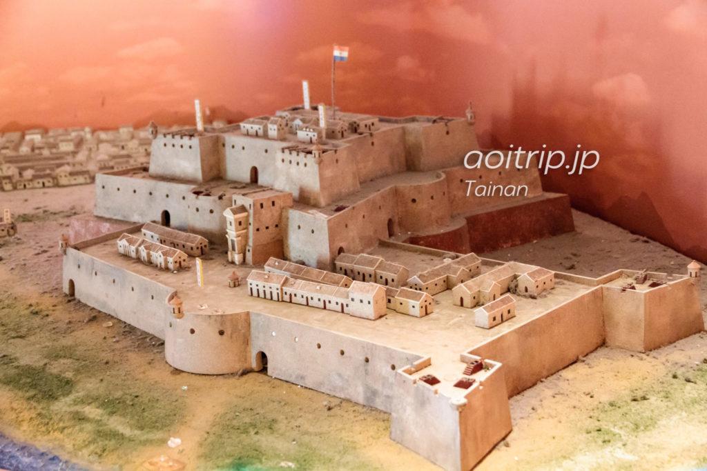 ゼーランディア城の模型