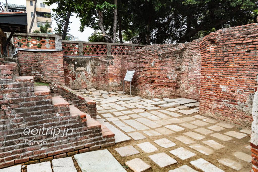 赤崁楼のプロヴィンシア城遺跡