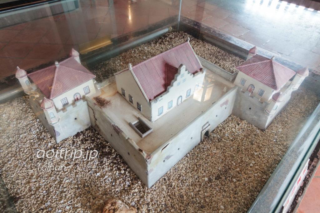 赤崁楼(プロヴィンシア城)の模型