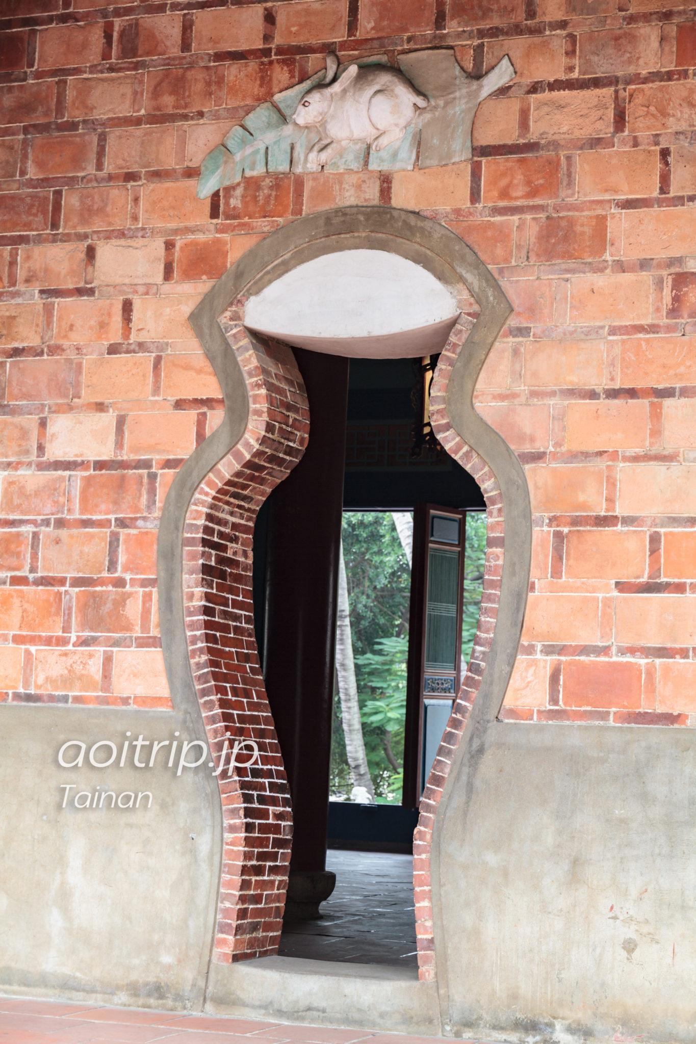 赤崁楼の瓶形の門