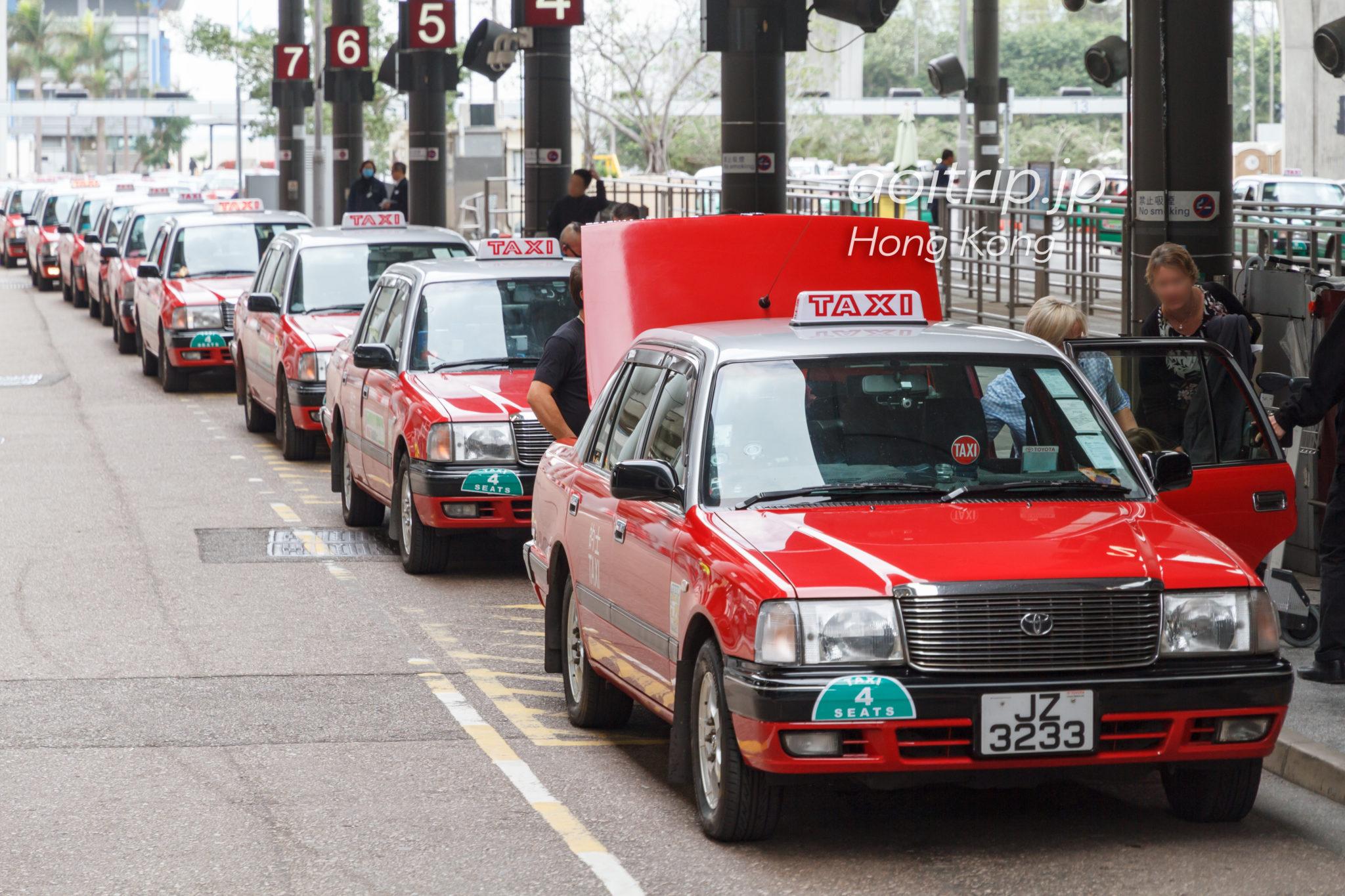 香港空港の市區的士(Urban Taxi)