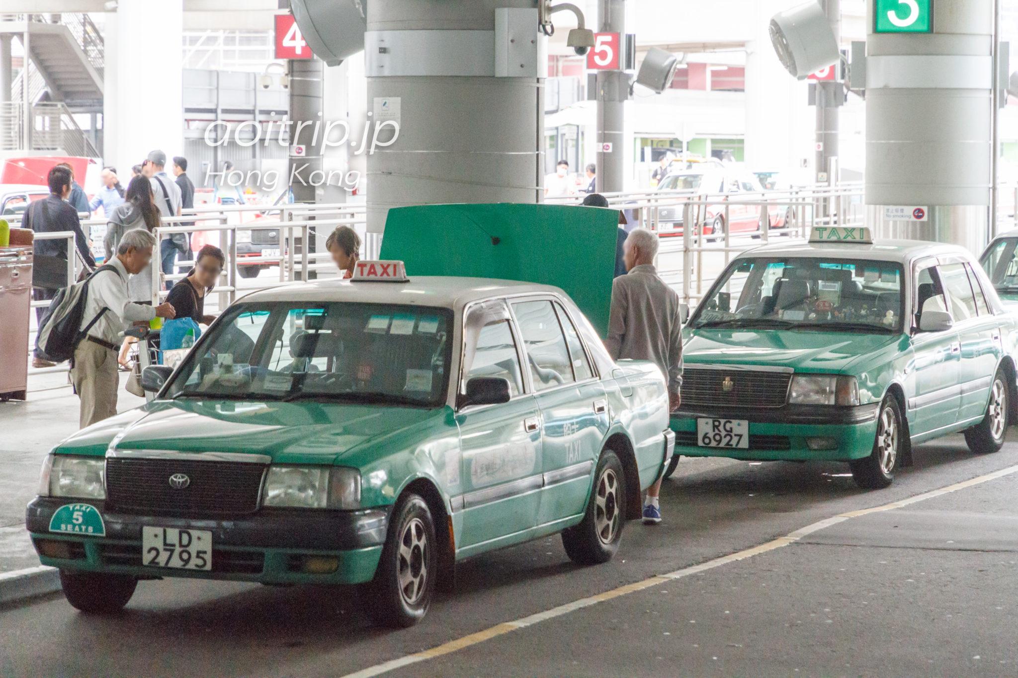 香港空港の新界的士(New Territory Taxi)