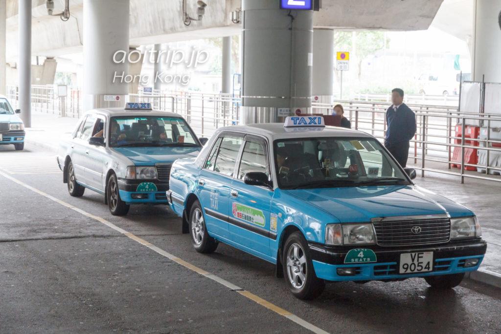 香港空港の大嶼山的士(Lantau Taxi)
