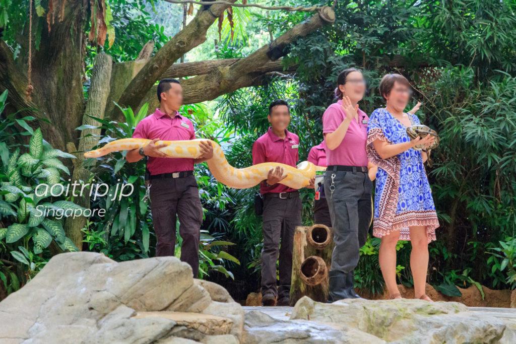 シンガポール動物園 スプラッシュサファリショー