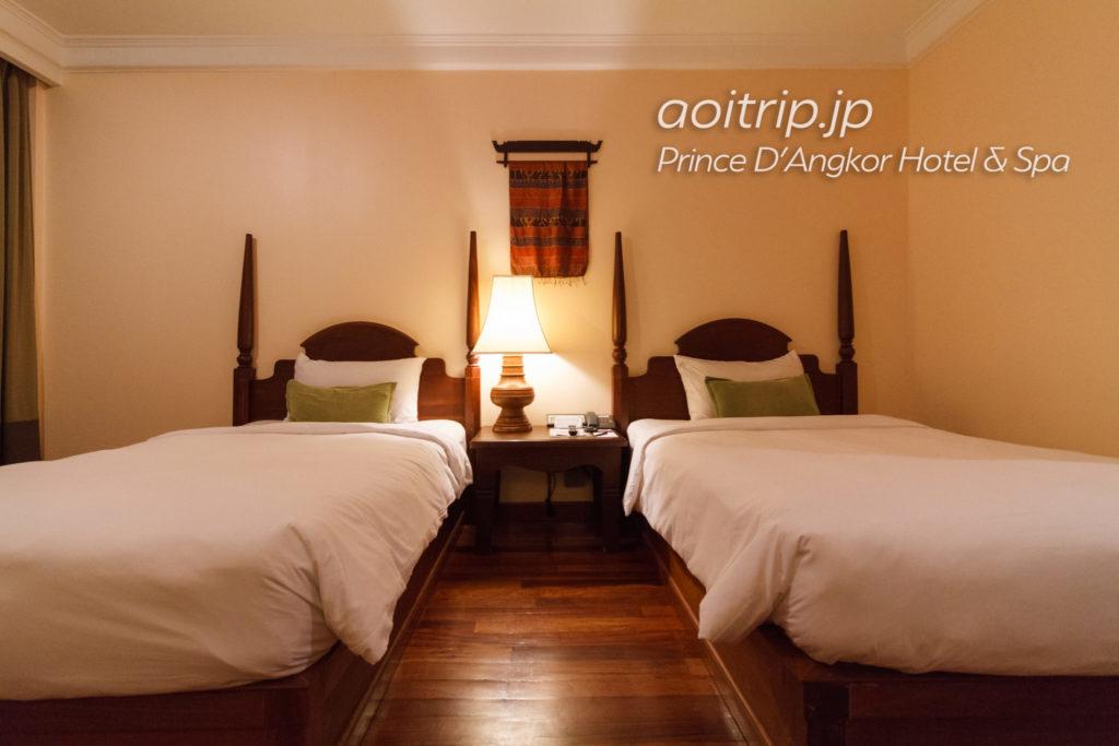 プリンスダンコールホテル&スパのスーペリアツインルーム