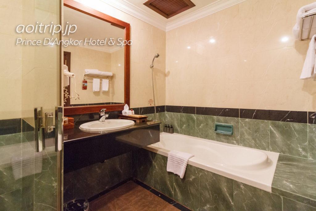 プリンスダンコールホテル&スパのバスルーム