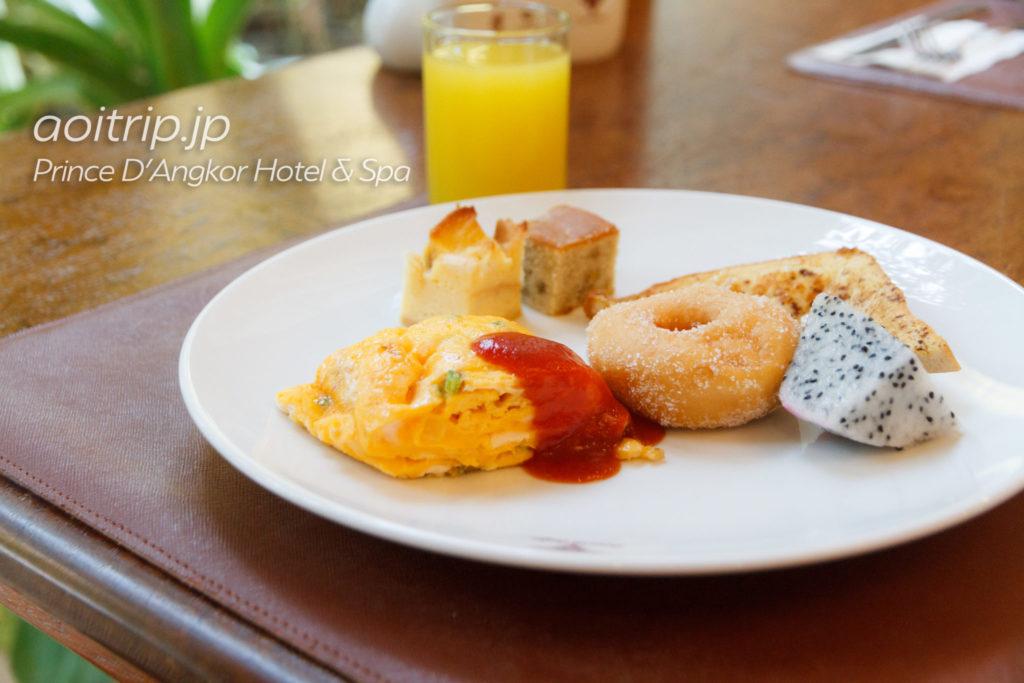 プリンスダンコールホテル&スパの朝食