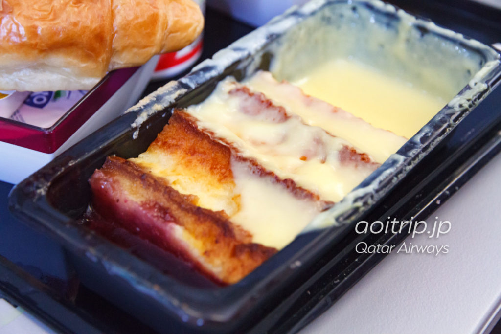 カタール航空QR217便の機内食