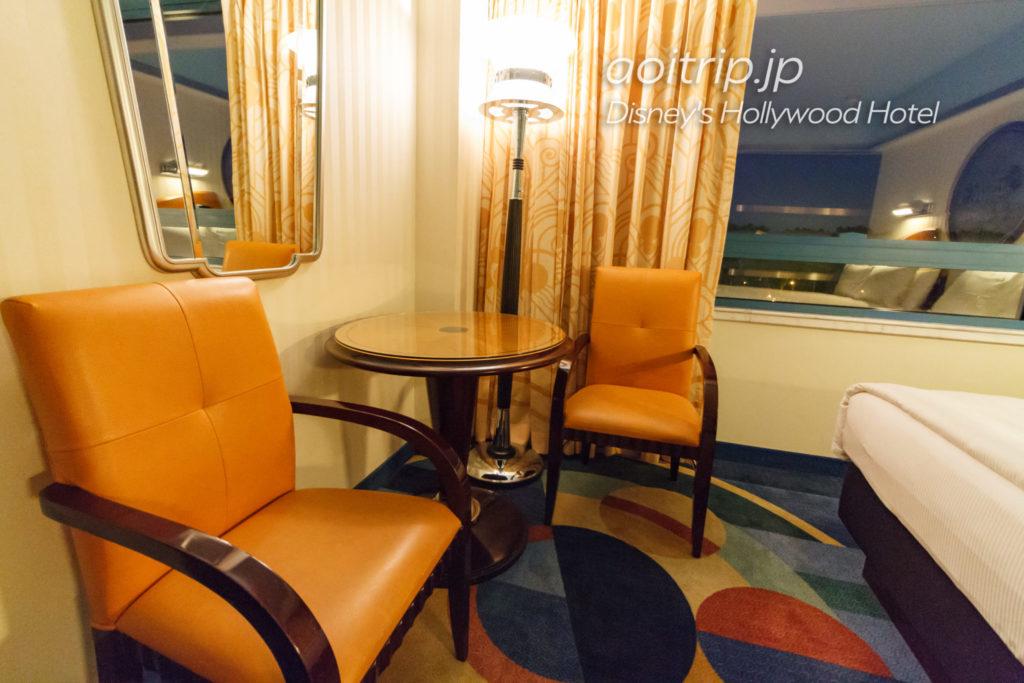 ディズニーハリウッドホテルのデラックスルーム