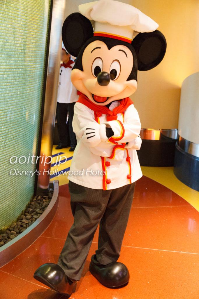 ディズニーハリウッドホテルのシェフミッキー