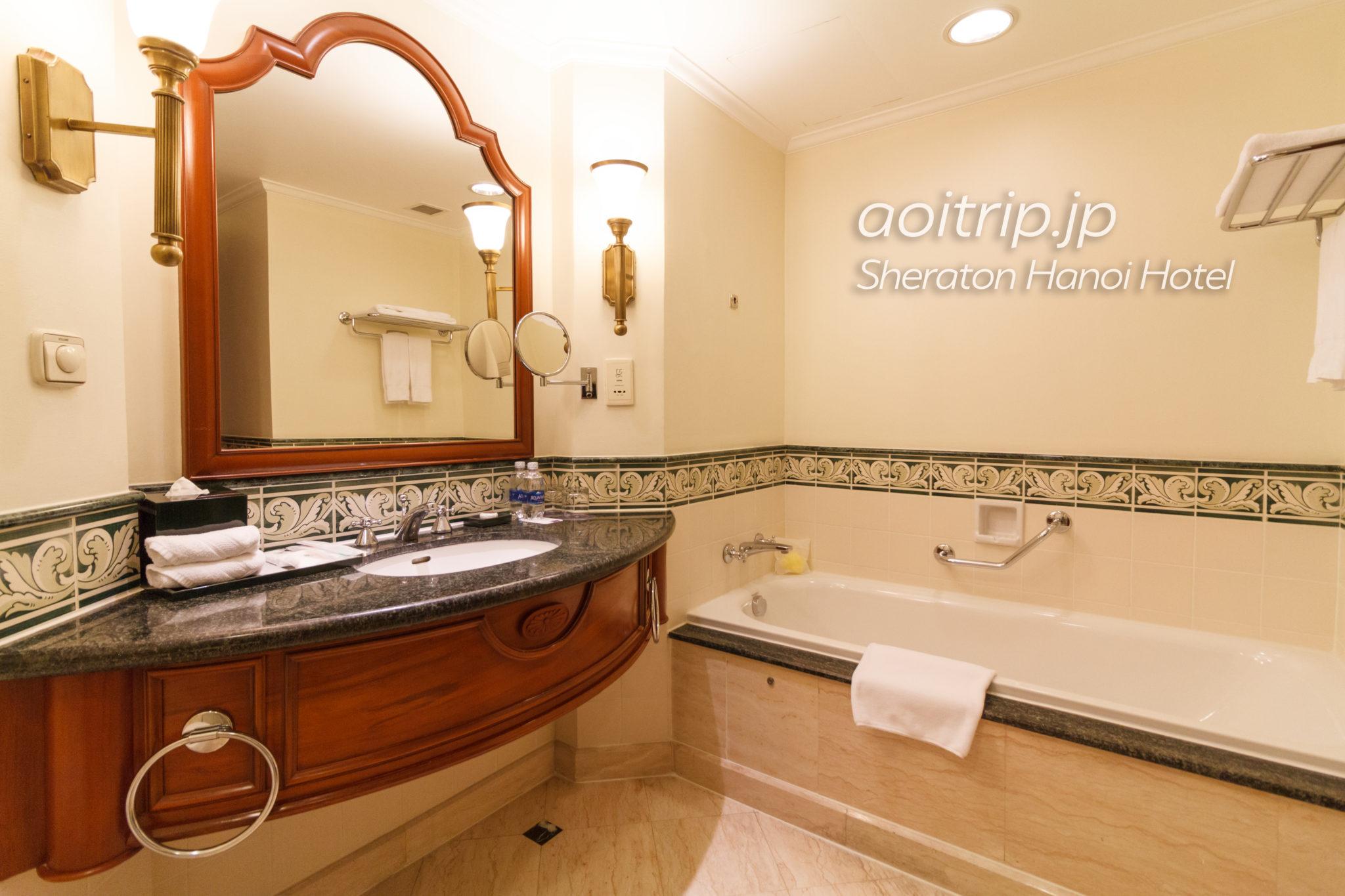 シェラトンハノイホテルのバスルーム