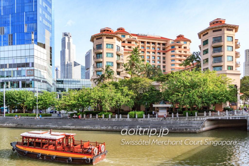 スイソテルマーチャントコートシンガポールのホテル外観