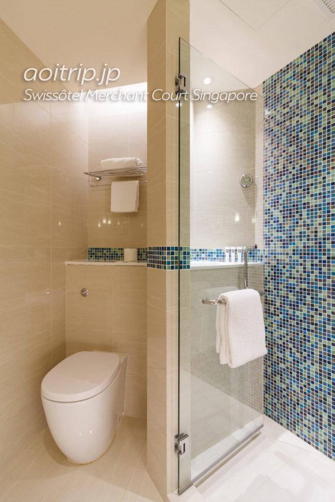 スイソテルマーチャントコートシンガポールのバスルーム