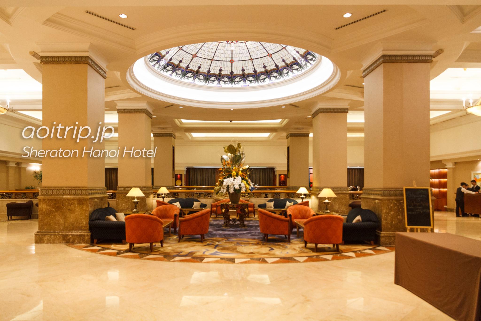 シェラトンハノイのホテルロビー