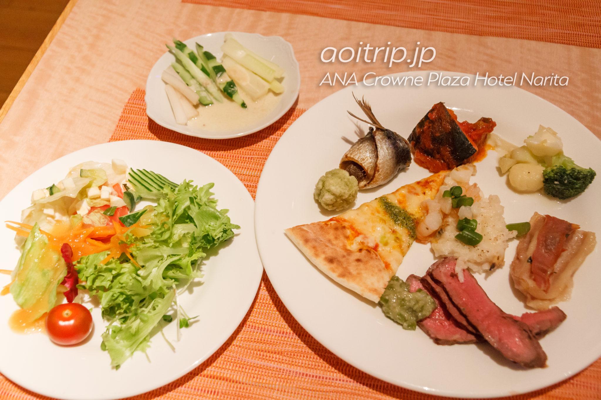 ANAクラウンプラザホテル成田のセレースの夕食