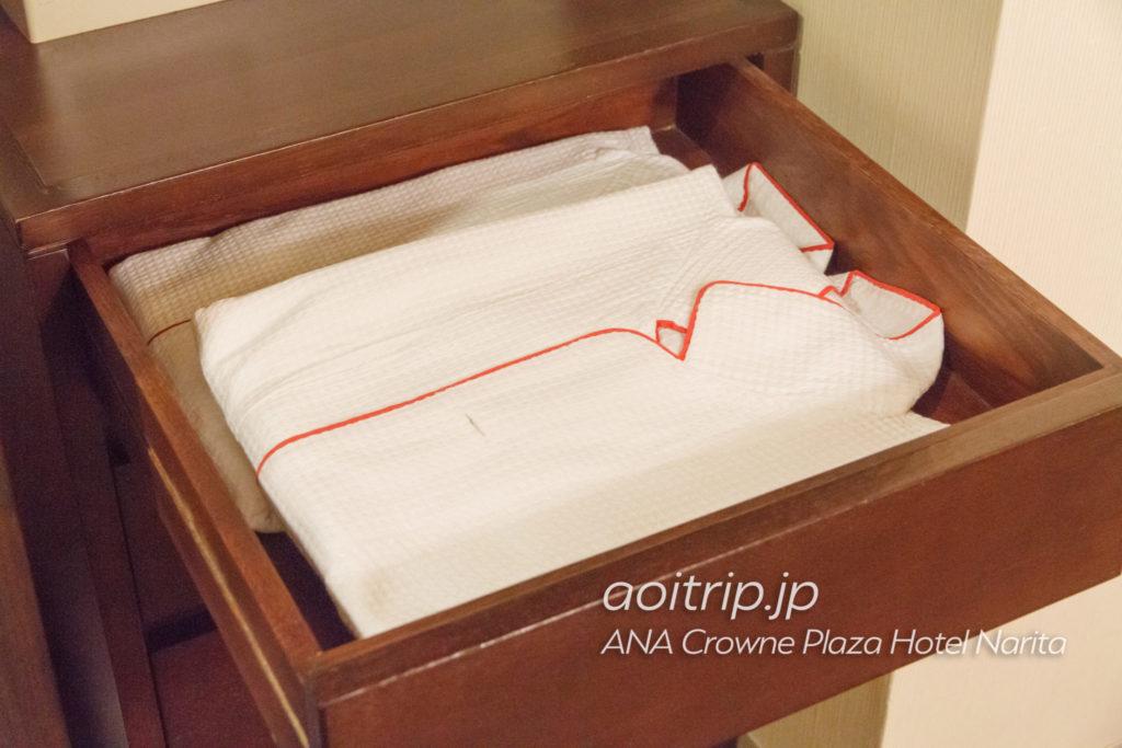 ANAクラウンプラザホテル成田のパジャマ