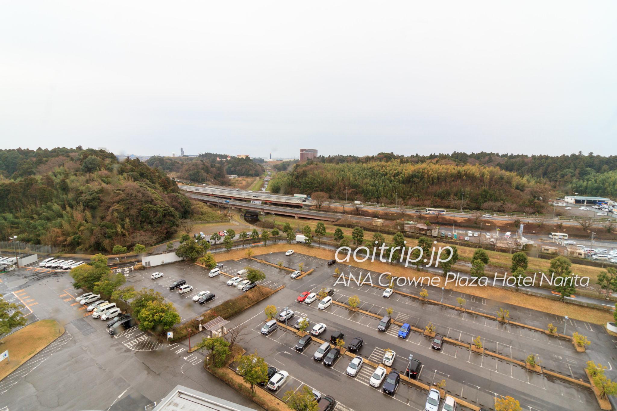 ANAクラウンプラザホテル成田の11階からの眺望