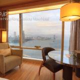 ルネッサンス香港ハーバービューホテルのハーバービュールーム客室
