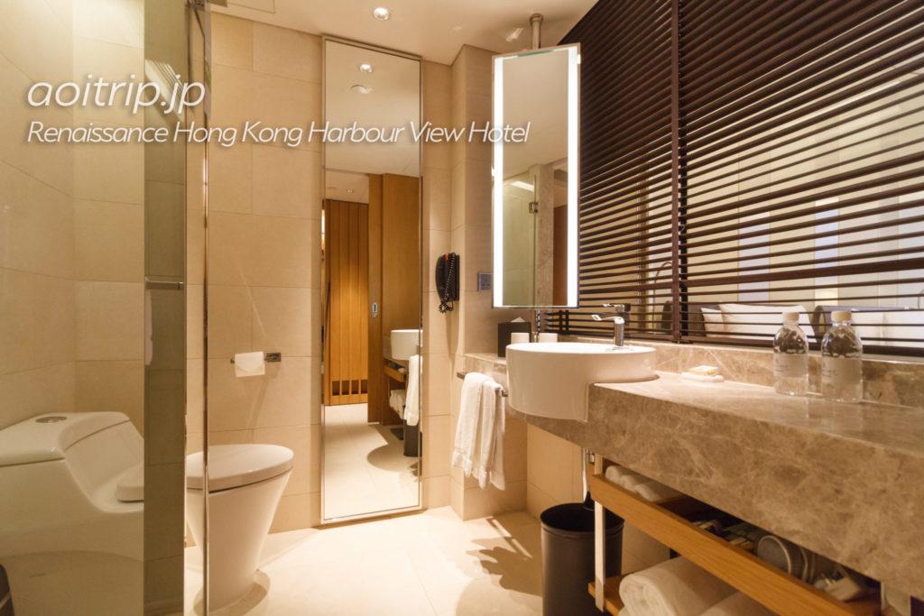 ルネッサンス香港ハーバービューホテルのバスルーム