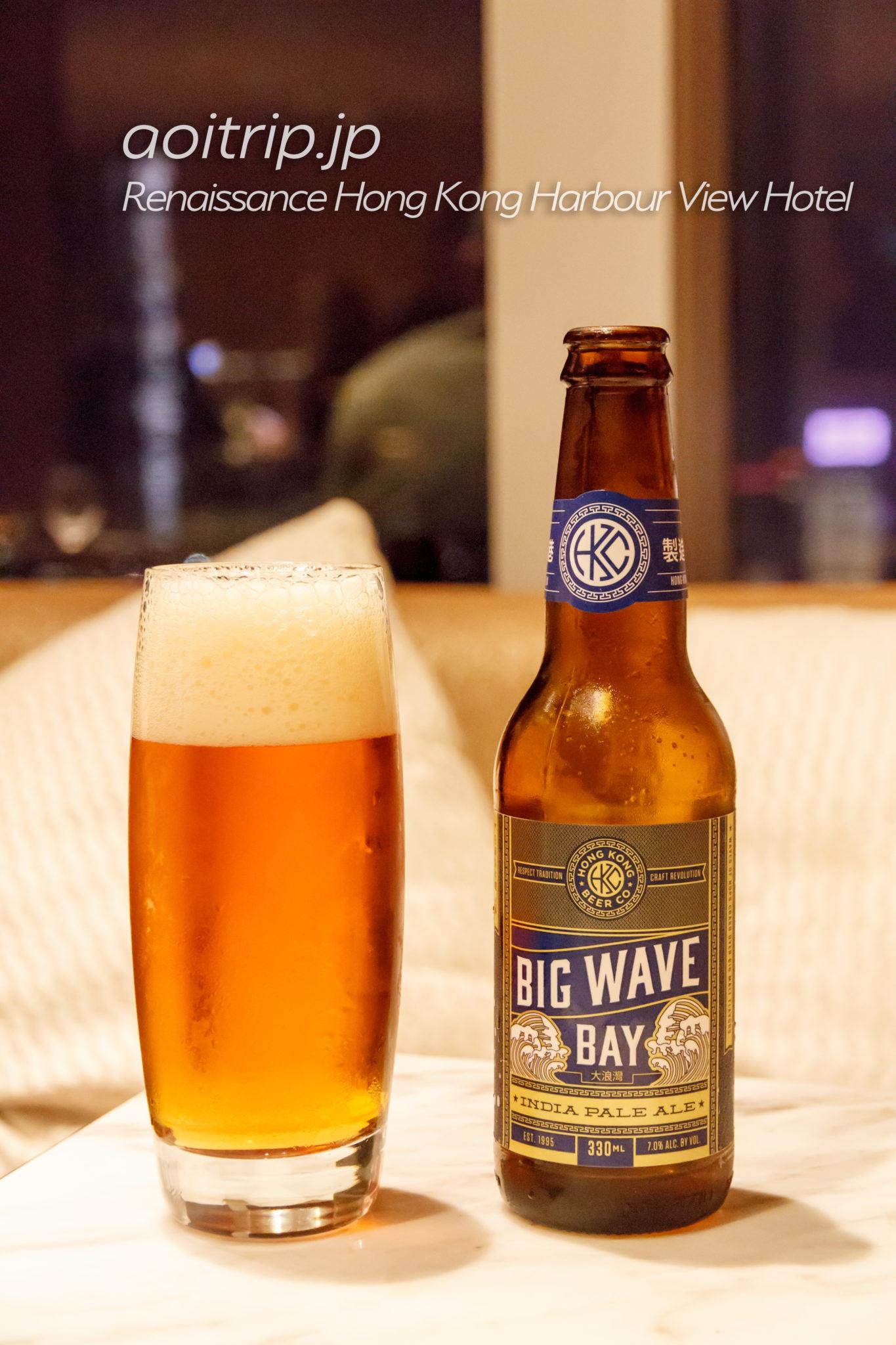 香港のBIG WAVE BAYビール