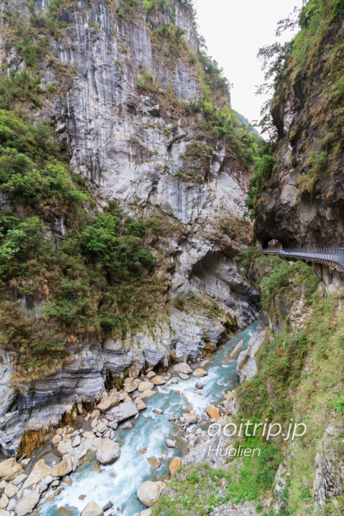 太魯閣国家公園の燕子口歩道