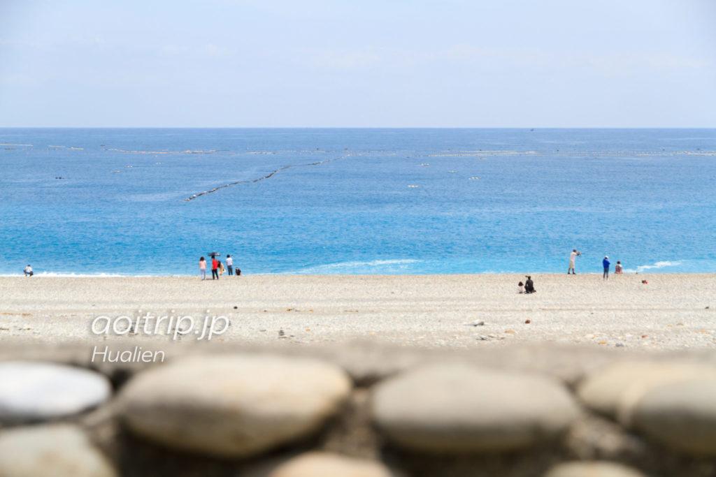 台湾・花蓮にある七星潭のビーチ