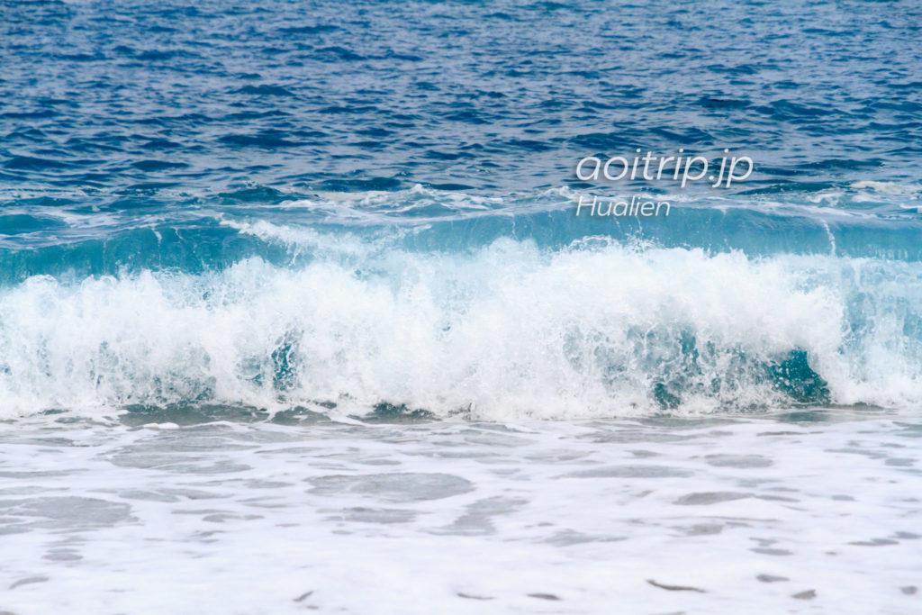 七星潭の波